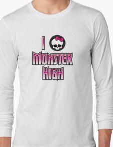 I Heart Monster High Long Sleeve T-Shirt