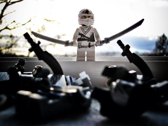 The White Ninja by bricksailboat