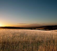 Sunrise over the Pentlands by MickDavsonPhoto