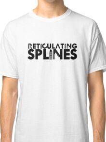 Reticulating Splines (Light Shirt) Classic T-Shirt