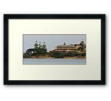 Pacific Hotel, Lorne Framed Print