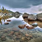 Rockscape at Lake Tahoe by Dianne Phelps