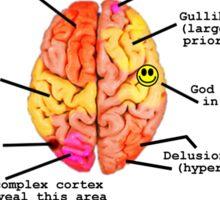 Your Brain On Religious Fundamentalism Sticker