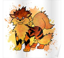 Arcanine - with background Poster