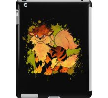 Arcanine - with background iPad Case/Skin