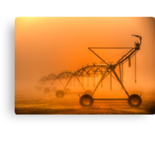 Dinosaurs in the Mist - Walwa Victoria (Colour) - The HDR Experience Canvas Print
