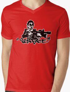 THE BAD GUY Mens V-Neck T-Shirt