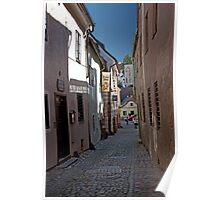 Cobble Stone Street Poster