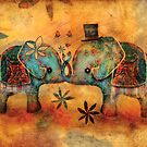 Vintage Elephants by © Karin (Cassidy) Taylor