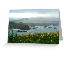Cliffs in the Mist Greeting Card