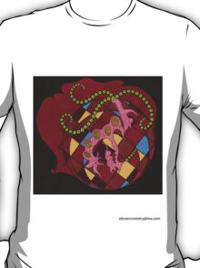Abstract Brain T-Shirt