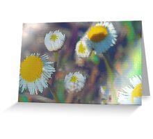 Crystal daisies Greeting Card