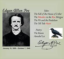 Edgar Allan Poe  by Rupa