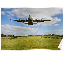 C130 Hercules Landing Poster