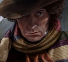 Fourth Doctor - Tom Baker by geekychick