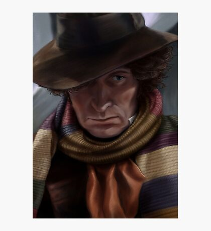 Fourth Doctor - Tom Baker Photographic Print