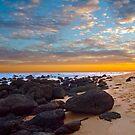 Beached Rocks by John Sharp