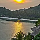 One Night in Koh Tao - Sunset from Jamahkiri by Cole Stockman