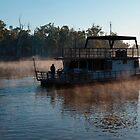 Dawn on the Murray by ©   Elaine van Dyk