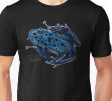 Dendrobates tinctorius azureus Unisex T-Shirt