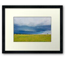 Sky - Masai Mara - Kenya Framed Print