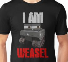 I Am Weasel Unisex T-Shirt