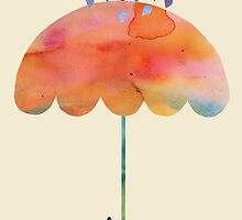 Rainbow Umbrella by Kanika Mathur