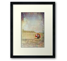 Dancing on my own Framed Print