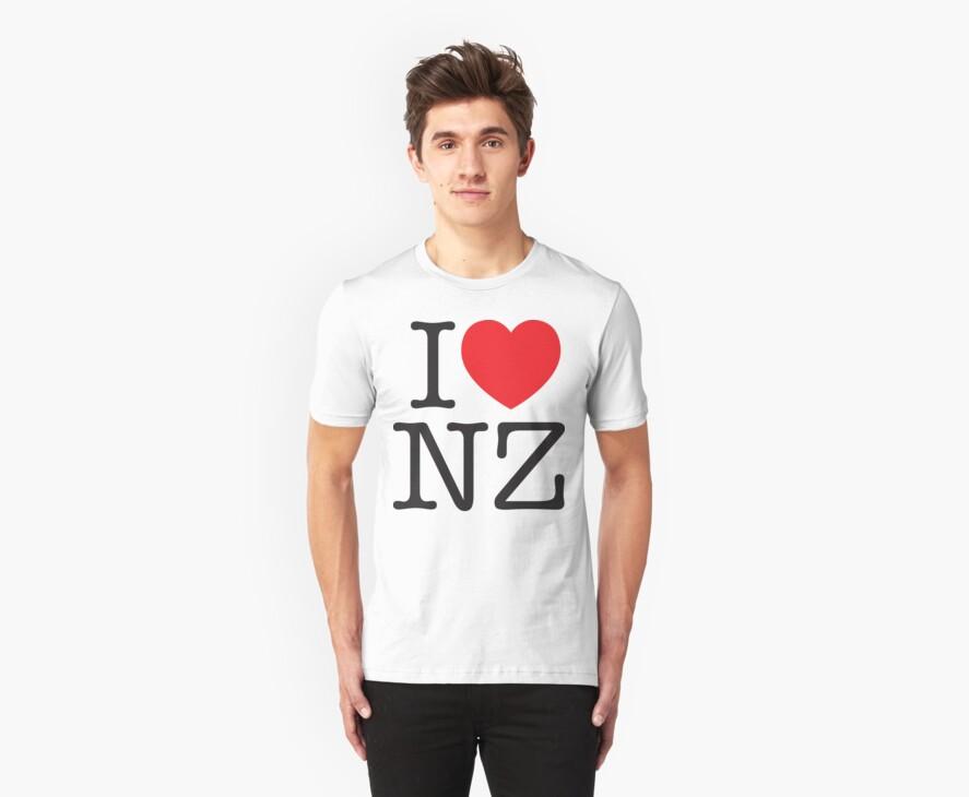 I LOVE NZ by Kwang Tran