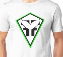 green diamond whale sticker Unisex T-Shirt