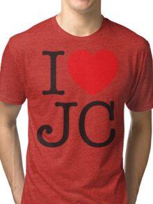 I LOVE JC Tri-blend T-Shirt