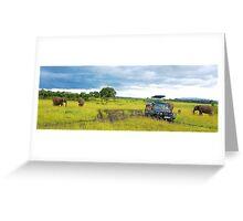 Safari - Masai Mara - Kenya Greeting Card