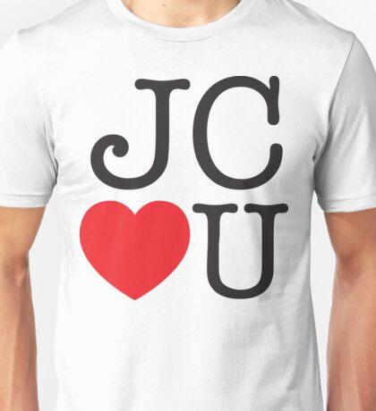 JC LOVES U Unisex T-Shirt