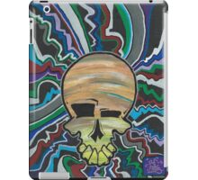 electric candy skull iPad Case/Skin