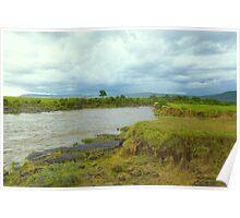 River Mara in Kenya Poster