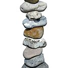 Stones balance in zen  by nadil