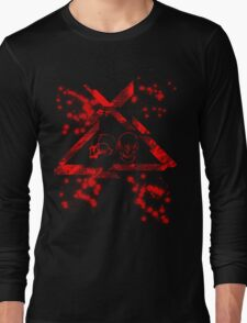 CAUTION (RED LINE) Long Sleeve T-Shirt