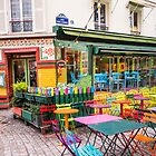 Colours of Montmartre, Paris by David Mapletoft