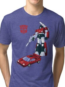 Sideswipe (light coloured T-shirts) Tri-blend T-Shirt