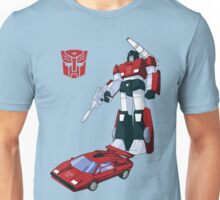 Sideswipe (light coloured T-shirts) Unisex T-Shirt