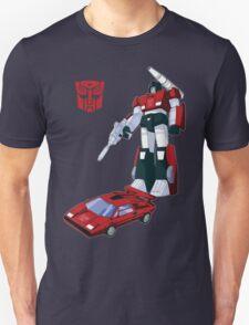 Sideswipe (dark coloured T-shirts) Unisex T-Shirt