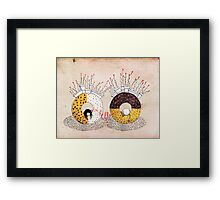 Breakfast in wonderland Framed Print