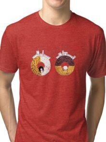 Breakfast in wonderland Tri-blend T-Shirt