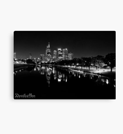 Swan Road View Canvas Print