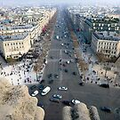 Streets of Paris by karendfrancis