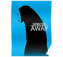 Spirited Away - No Face Poster