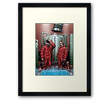 Blue Meth Framed Print