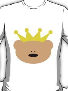 Teddy Bear with royal crown T-Shirt