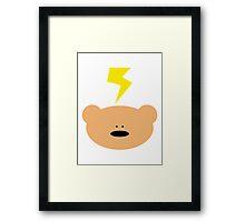 Teddy Bear flash Framed Print