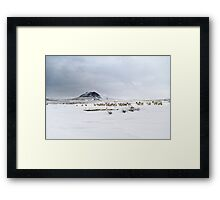 Slemish muntain , Ulster , Co Antrim , United Kingdom  Framed Print